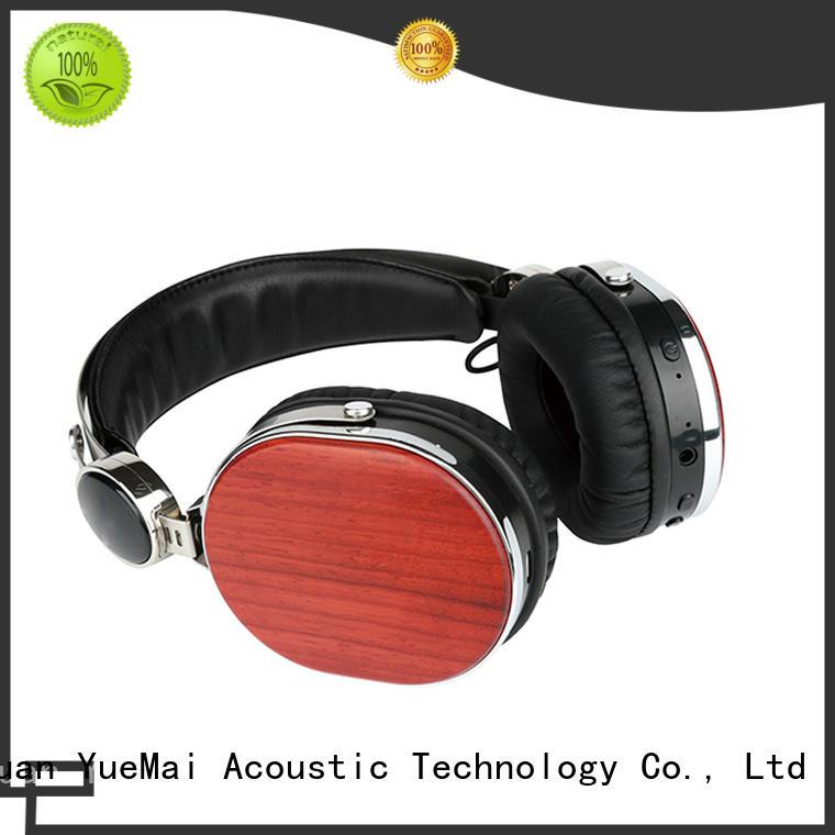 high quality wooden bluetooth headphones walnut wood