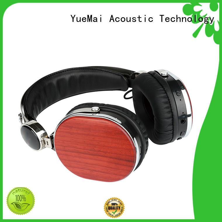 new audio technica wood headphones manufacturer for mobilephone YueMai Acoustic Technology