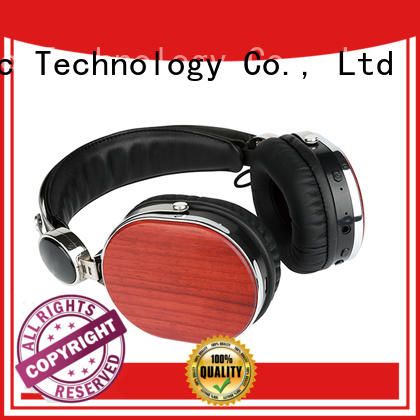 top quality best wooden headphones from China for computer