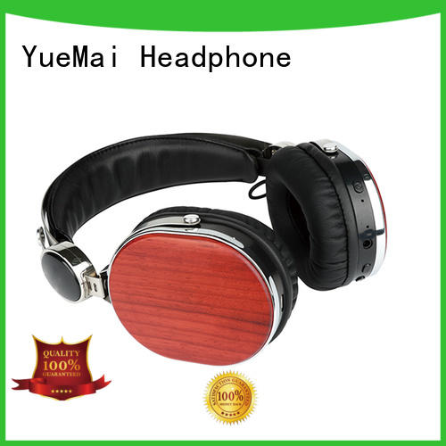 bluetooth wireless stereo headset with logo for computer YueMai Acoustic Technology