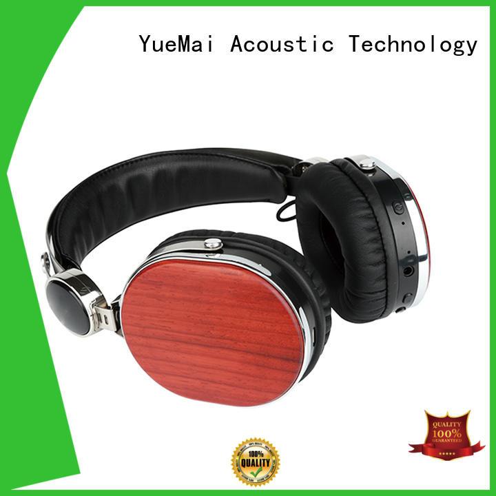 Hot earphone wooden headphones universal bluetooth YueMai Acoustic Technology Brand