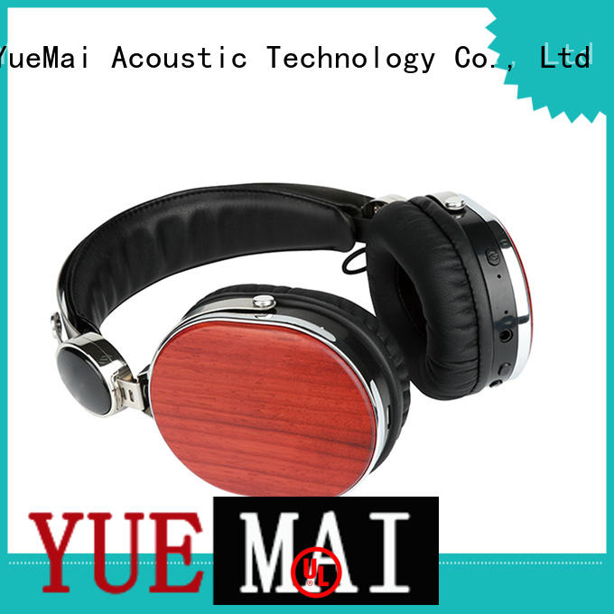 YueMai Acoustic Technology wood wireless headphones directly sale for sale