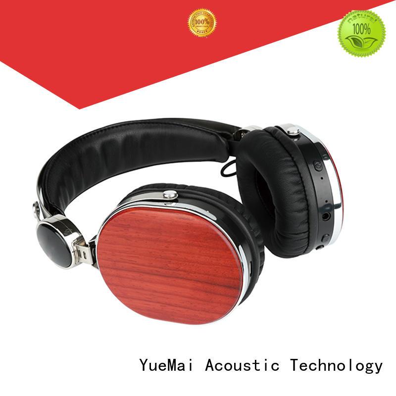 wood grain headphones professional YueMai Acoustic Technology