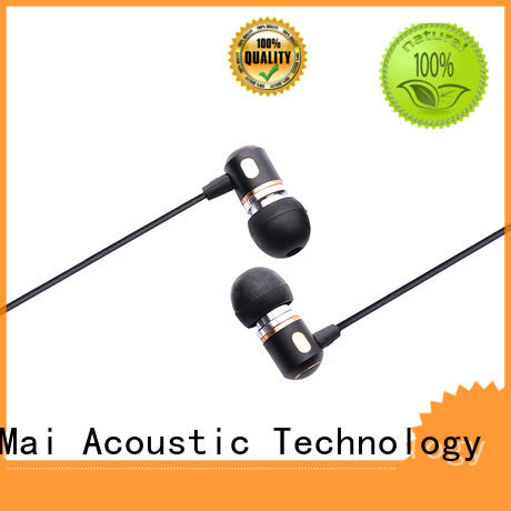 Custom oem metal headphone metallic YueMai Acoustic Technology