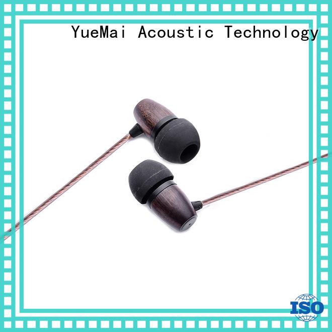 YueMai Acoustic Technology woodbud earphones for sale