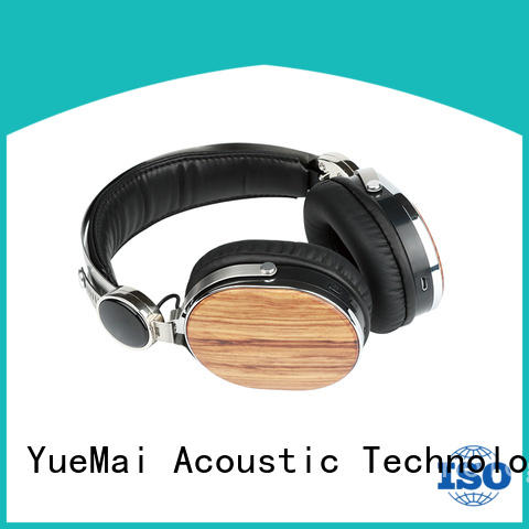 YueMai Acoustic Technology wood over ear headphones directly sale for adults