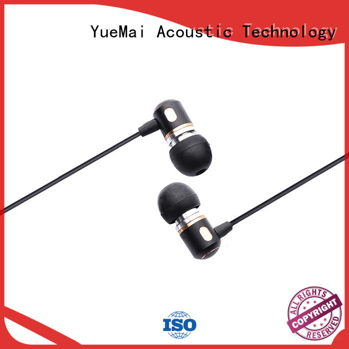 ymq metal pro premium earbuds with logo for ipad YueMai Acoustic Technology