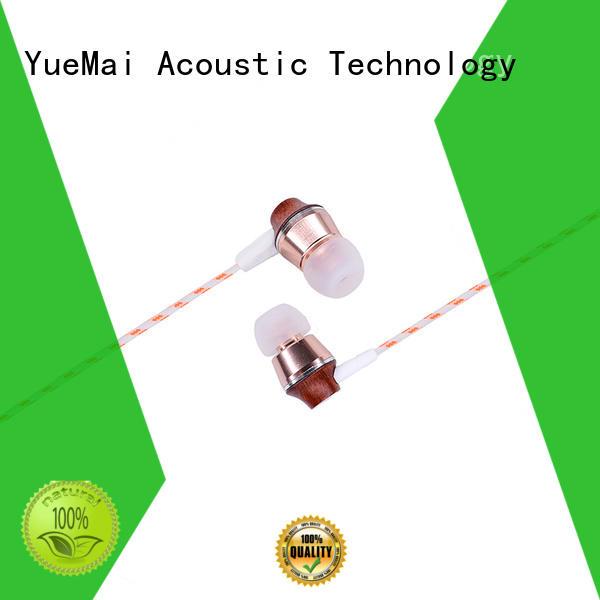 good quality earphones & wooden earbuds