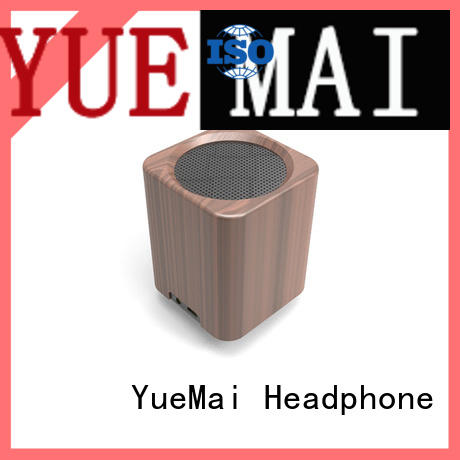 wooden wireless speaker ymad for pc YueMai Acoustic Technology