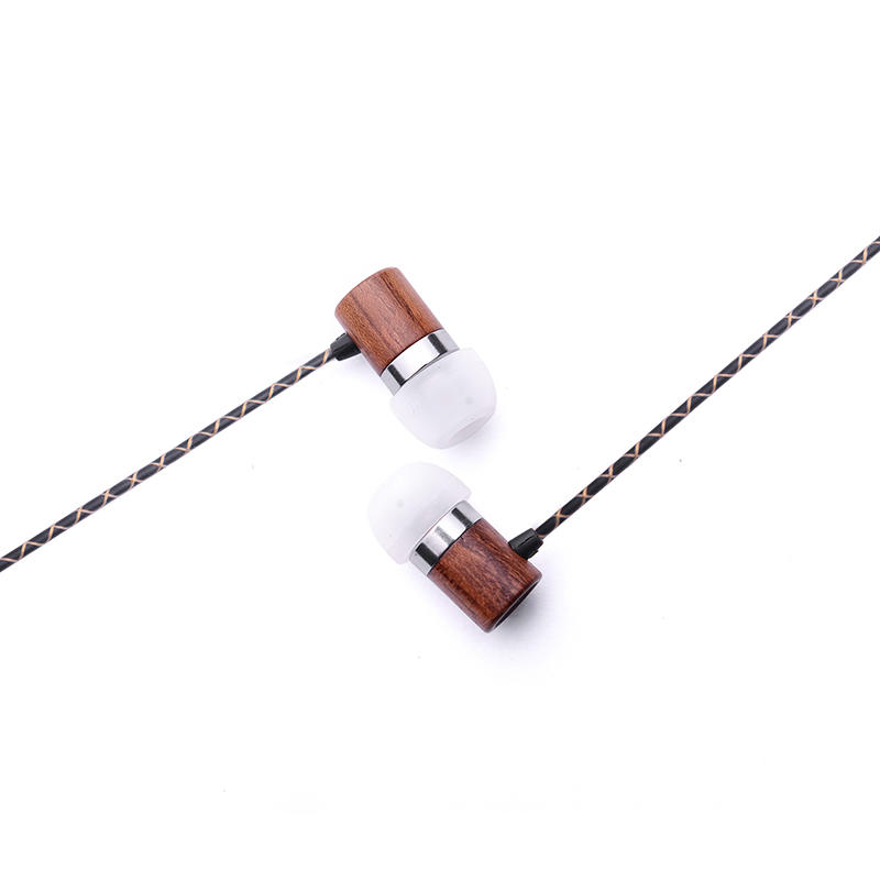 YM-W02-BG universal wired earbud with mic for mobile and compurter