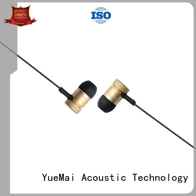 YueMai Acoustic Technology best most comfortable earbuds with logo for sale