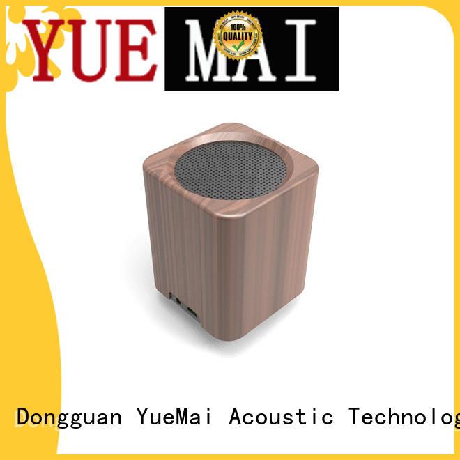 deep tablet wooden portable speaker YueMai Acoustic Technology Brand