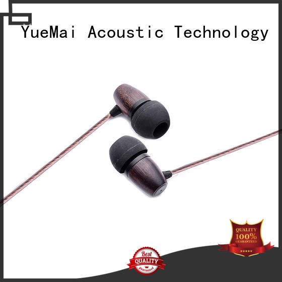computer form wooden earbuds wireless YueMai Acoustic Technology