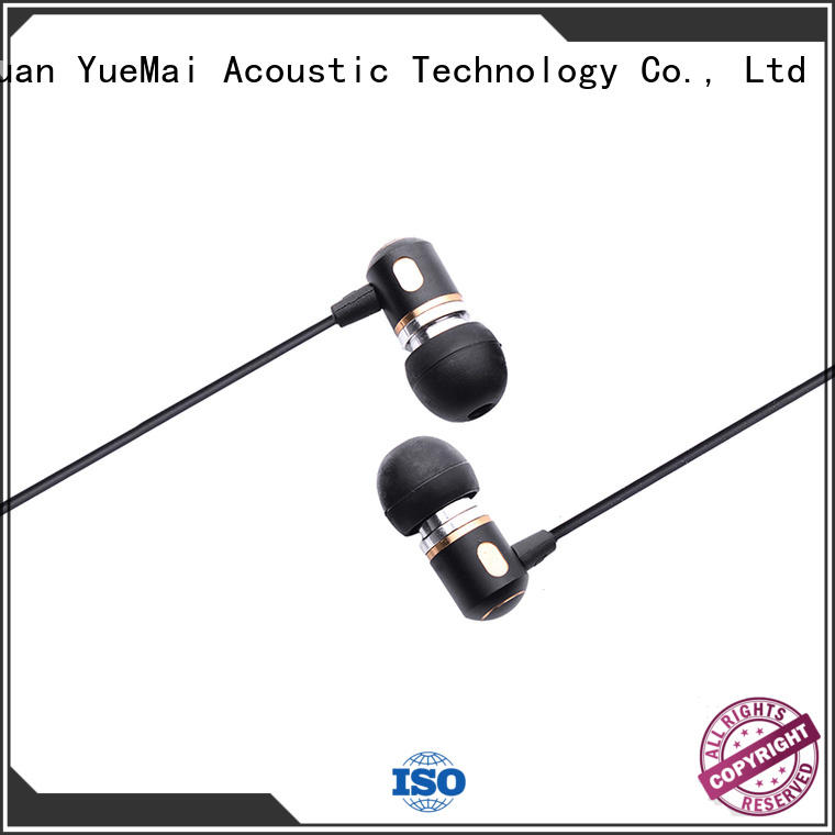 metal pro premium earbuds for mobile YueMai Acoustic Technology