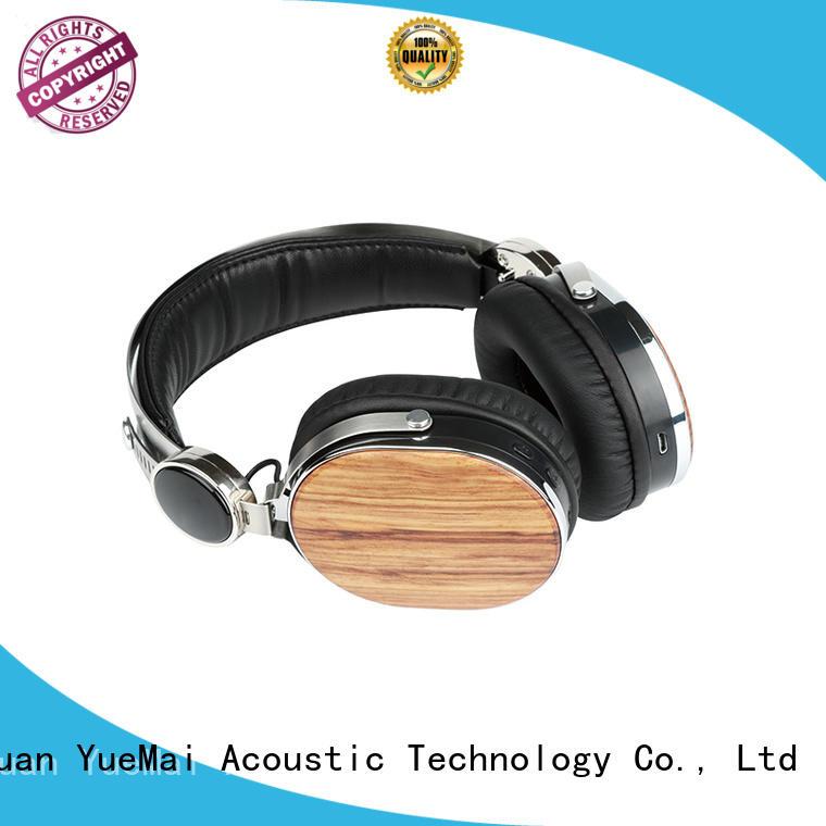 wood grain headphones