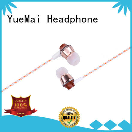 natural wood earbuds ymwwn for sale YueMai Acoustic Technology