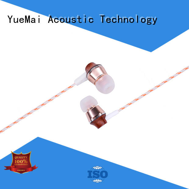 ymweb headphones made of wood ymwwn for mobile and computer YueMai Acoustic Technology