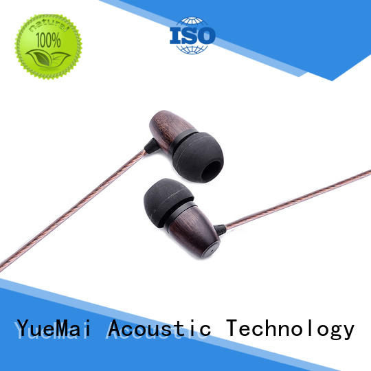 YueMai Acoustic Technology Brand form wireless hands wooden headphone stereo