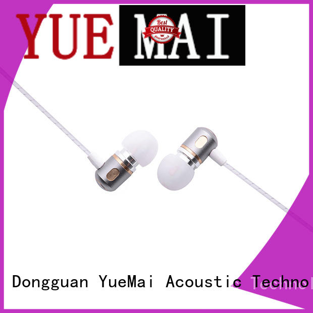 active metal earbuds for sale YueMai Acoustic Technology
