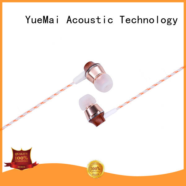 wooden earbuds for sale YueMai Acoustic Technology