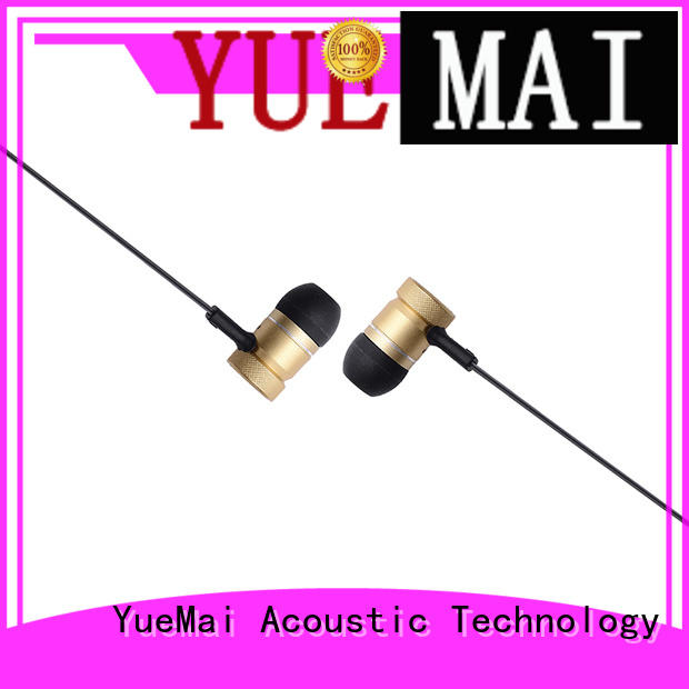ymb metal earbud best for ipad YueMai Acoustic Technology