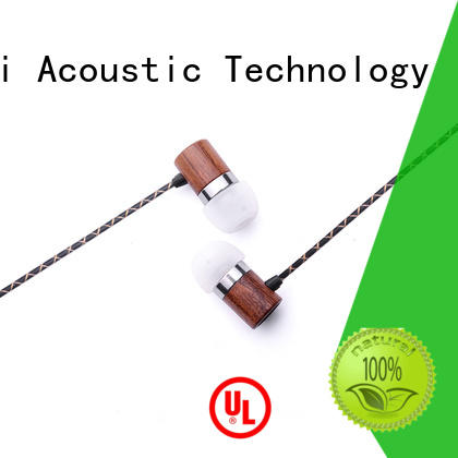 ymweb symphonized wood earbuds for mobile and computer YueMai Acoustic Technology