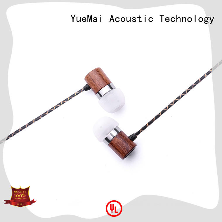 ymweb wooden earbuds supplier for sale