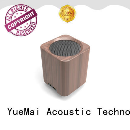 professional wooden portable bluetooth speaker manufacturer for pc YueMai Acoustic Technology