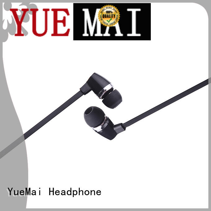 YueMai Acoustic Technology universal wooden earbuds for mobile and computer
