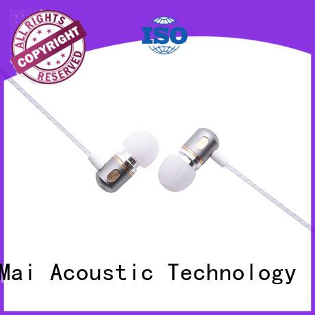 metal in ear headphones free Stereo Warranty YueMai Acoustic Technology