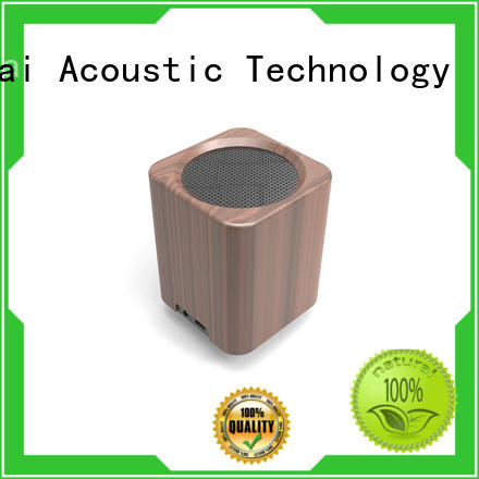 YueMai Acoustic Technology wooden wifi speaker manufacturer for ipad