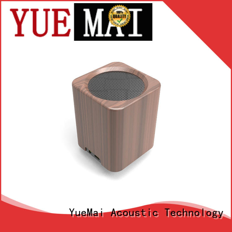 deep computer YueMai Acoustic Technology Brand wooden bluetooth speaker