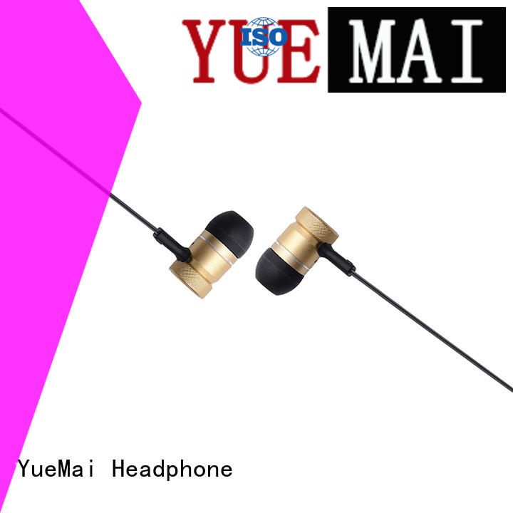 wireless bluetooth metallic headphone earphone YueMai Acoustic Technology company