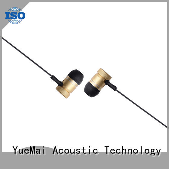 YueMai Acoustic Technology top quality metal headset with microphone for ipad