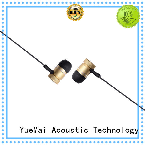 high quality sentry metal earbuds without logo for mobile YueMai Acoustic Technology