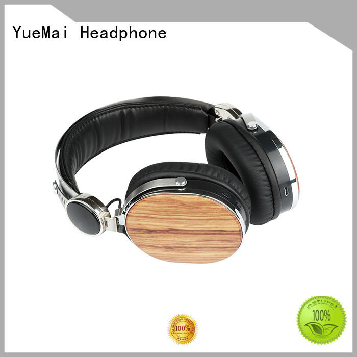 walnut earbuds wooden headphones print YueMai Acoustic Technology company