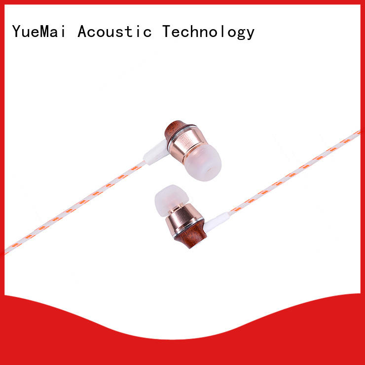 YueMai Acoustic Technology wooden earphones manufacturer for mobile and computer