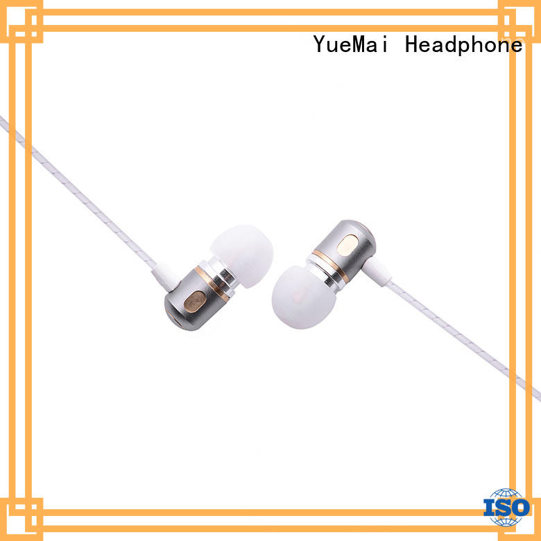 YueMai Acoustic Technology custom metal pro headphones factory direct supply for adults