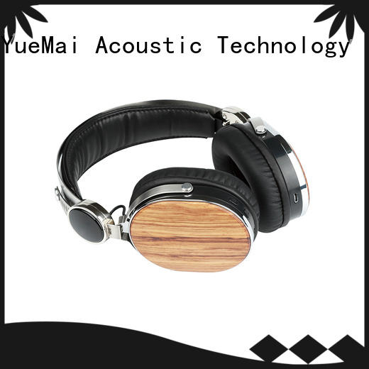 YueMai Acoustic Technology wooden bluetooth headphones inquire now for sale