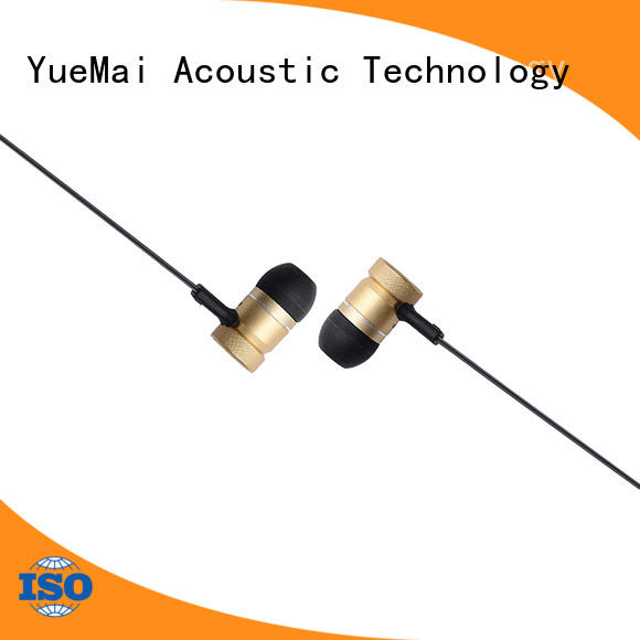 YueMai Acoustic Technology headphones made of metal from China for adults
