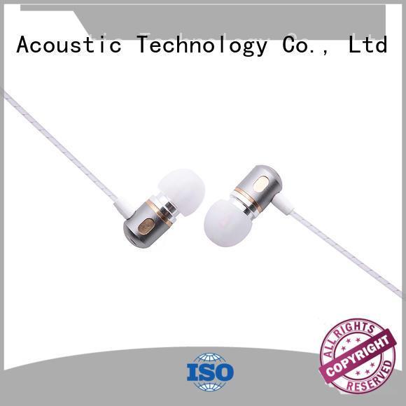 in the ear headphones & emerson metal earbuds