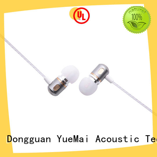 YueMai Acoustic Technology ymq emerson metal earbuds with microphone for sale