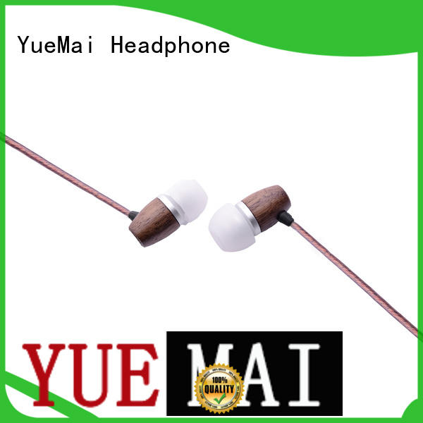 YueMai Acoustic Technology ymwwn symphonized wood earbuds supplier for mobile and computer