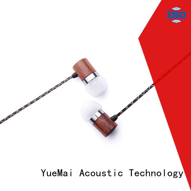 oem best wooden earphones supplier for sale