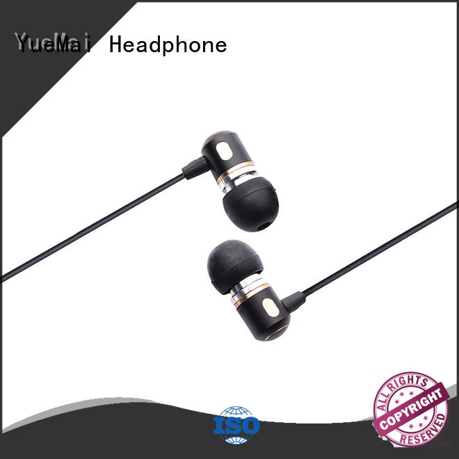 YueMai Acoustic Technology hands free metal earphones for sale