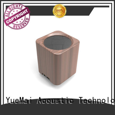 wooden portable speaker computer wireless audio YueMai Acoustic Technology Brand