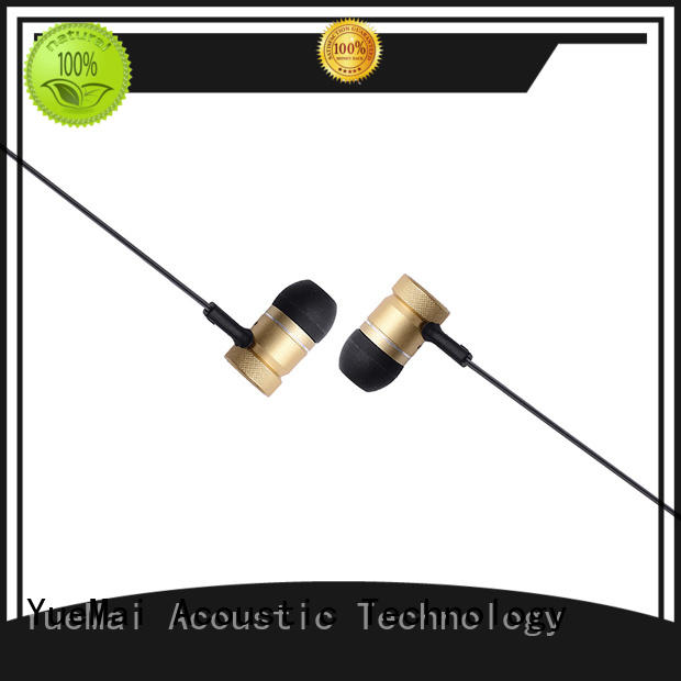 dual driver metal earbuds factory for adults