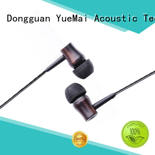 symphonized wood earbuds professional for mobile and computer YueMai Acoustic Technology