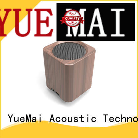 YueMai Acoustic Technology ymad wooden bluetooth speaker with lithium battery for sale