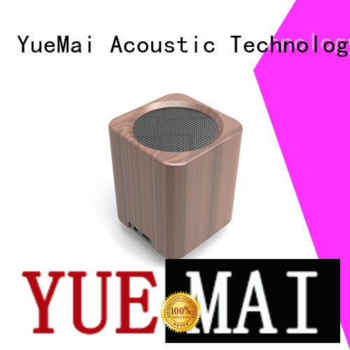 wooden portable speaker rich clear wooden bluetooth speaker YueMai Acoustic Technology Brand